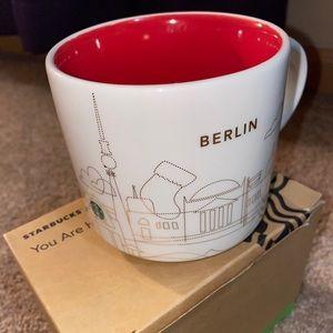 Starbucks You Are Here Berlin Christmas Mug